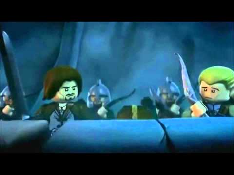 Lego Lord Of The Rings - Chapter 1 2 3 4