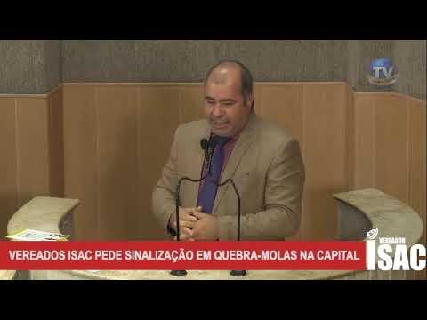 Imagem para vídeo Vereador Isac cobra sinalização de trân...