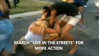 [GIRL GANG FIGHT IN THE HOOD] Video