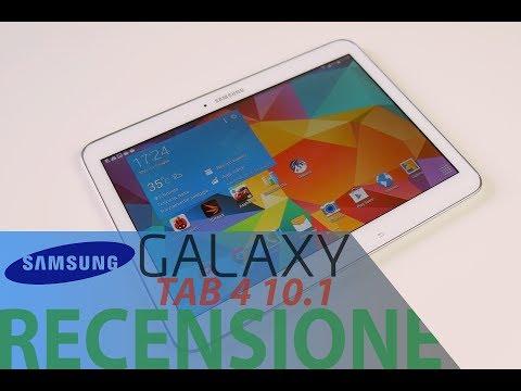 Samsung Galaxy Tab 4 10.1, recensione in italiano