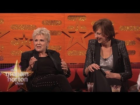 Julie Walters and Miranda Hart Try Rapping - The Graham Norton Show