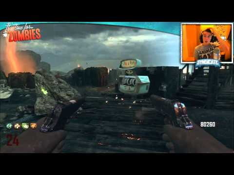 Black Ops 2 Zombies: Nuketown Round 36 Gameplay/Tutorial! w/Syndicate!