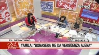 "Yamila Reyna: ""Bonasera me da vergüenza ajena"""