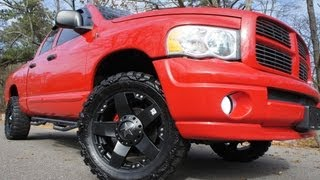 2005 Dodge Ram 1500 Crew Cab Sport For Sale~Custom Rims & Stereo~Beautiful Truck videos