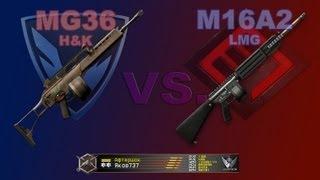 H&K MG36 и M16A2 + Daewoo K3 - Warface / Оружие