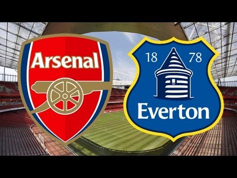 Arsenal VS Everton 4-1 FA Cup All Goals + Highlights (08/03/2014)