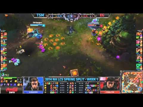 TSM Bjergsen - League of Legends (LCS 2014 Highlights)