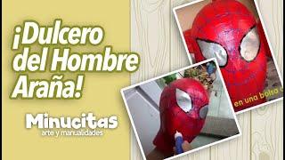 Cooking | tutorial dulceros del hombre araña spiderman | tutorial dulceros del hombre araA±a spiderman