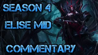 Elise Mid Season 4 Live Commentary Build And Tips