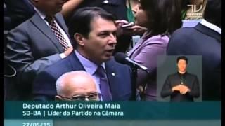 Dep. Arthur Maia (SD-BA) vota favorável ao fim da reeleição