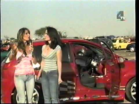 TURBO SPEED TV  LAURA Y CLAUDIA EDECANES