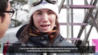 Interview avec le snowboardeur ayant participé à la Coupe du monde de Big Air