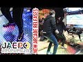 Latest Arcade games from Japan feat New Dance Games Real cockpit Robot Action
