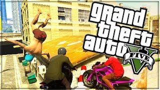 "GTA 5 FUNNY MOMENTS | ""BIKE RACES"" 