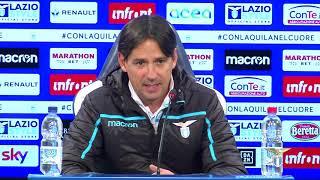 La conferenza stampa di mister Inzaghi alla vigilia di Napoli-Lazio