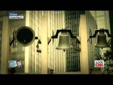 Moment of silence for JFK on the 50th anniversary of his assasination | CNN | 11-22-13
