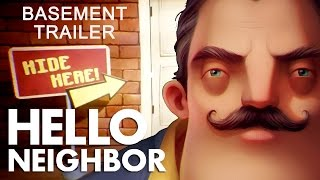 Hello Neighbor - Basement Játékmenet Trailer #2