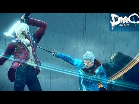 SamD DmC: Devil May Cry - DmC3 Dante vs DmC3 Vergil Must Die SSS No Damage DmC