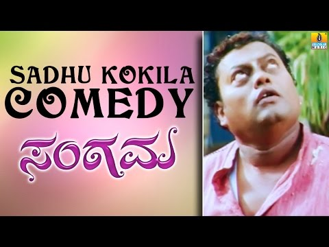 Sadhu Kokila Comedy Scene - Sangama