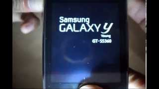 How To Reset A Samsung GT-S5360 (Galaxy Y Young)