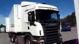 Scania 25.25m Trucks On Show