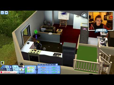 Ahh! Zombie Attack! - The Sims 3 - Episode 4