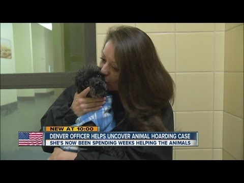 Detective arrests animal cruelty suspects, then cares for pets
