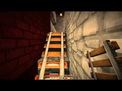SMP Nether Rail From Portal to Blaze Spawn