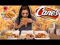 THE BEST CHICKEN EVER Raising Canes MUKBANG Eating Show