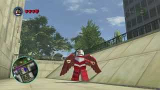 LEGO: Marvel Superheroes Falcon Gameplay