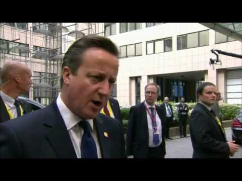 Cameron says Junker will be wrong person to lead EC