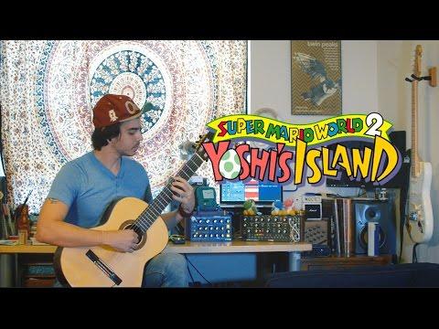 Super Mario World 2: Yoshi's Island - Castle/Fortress Theme - Super Guitario World