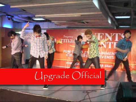 Upgrade- Just The Way You Are Mall Show @ Starmall EDSA Crossing (01-08-2012)