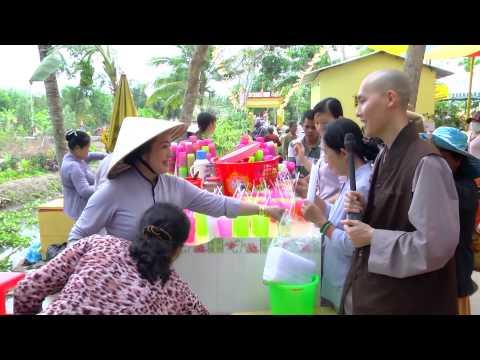 Ký Sự Phóng Sanh Chùa Linh Phước - Hậu Giang - 09/04/2015