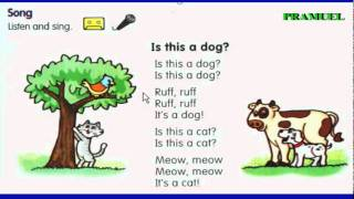 Animals Song, Is this a dog, Esl Song