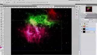 Photoshop CS5 Tutorial: How To Make A Beautiful Cosmic