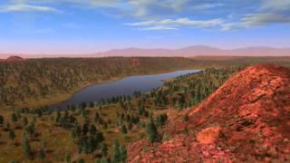 Terraforming Mars (CGI from NatGeo 2009 docu)