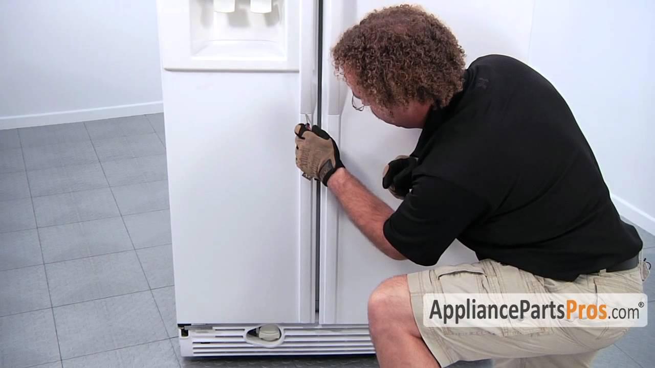 Refrigerator Door Handle How To Replace Youtube