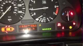 HOW TO RESET YOUR OIL SERVICE LIGHT 97-03 BMW 5 Series E39