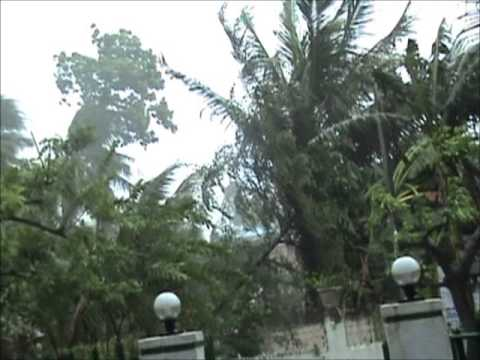 Super Typhoon Yolanda at Liloan, Cebu, Philippines