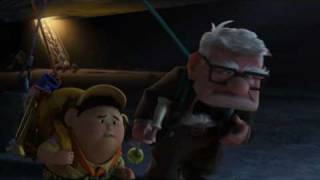 Pixar: Up Movie Clip The Pursuit Scene