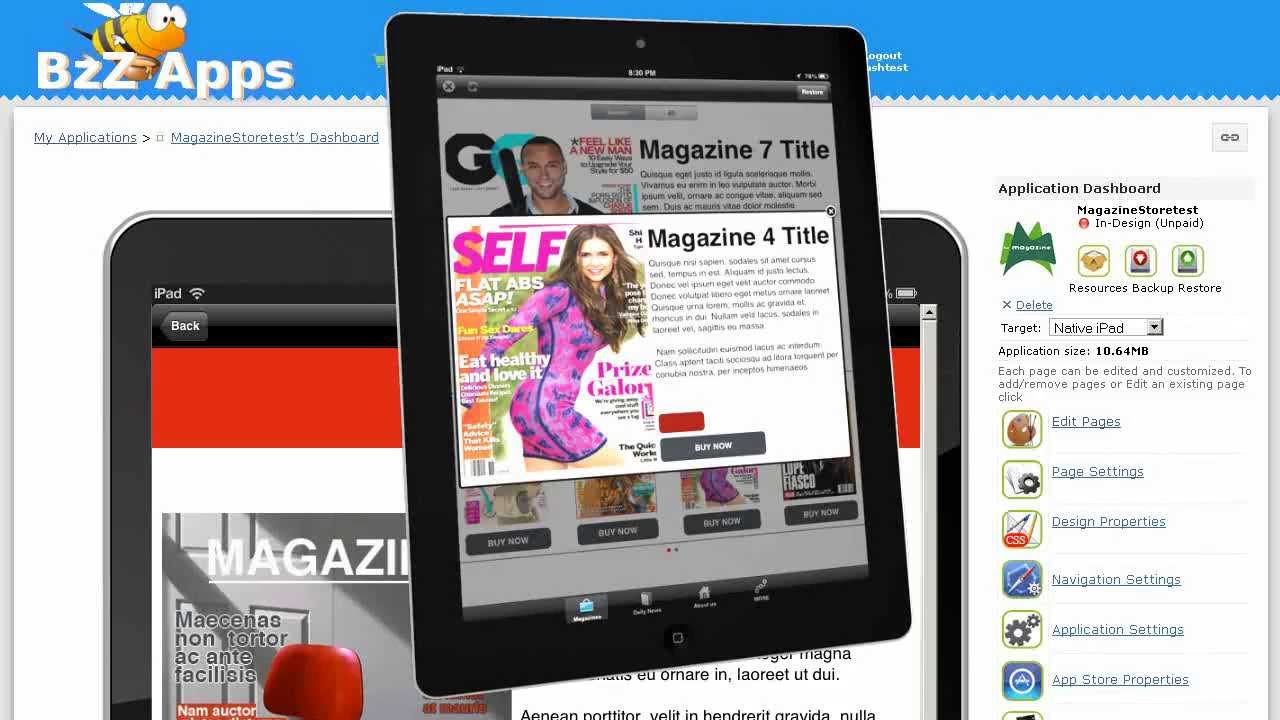 Part 1: Creating an Apple NewsStand Magazine App