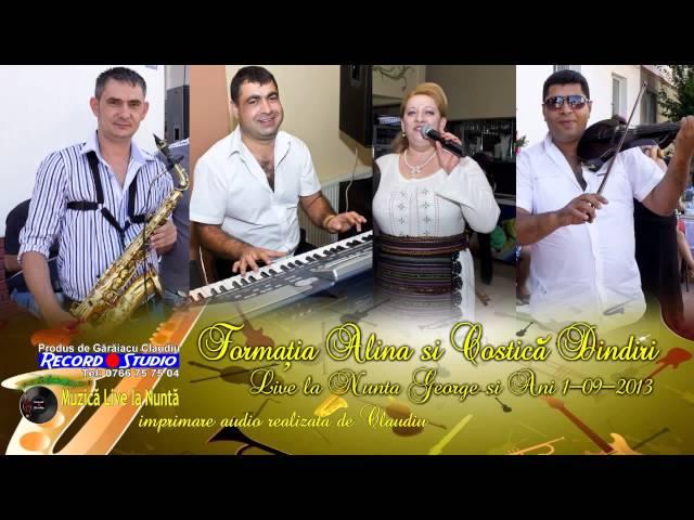 Alina si Costica Dindiri - Mie-mi plac mustatile LIVE- Imprimare Audio-Claudiu Record Studio