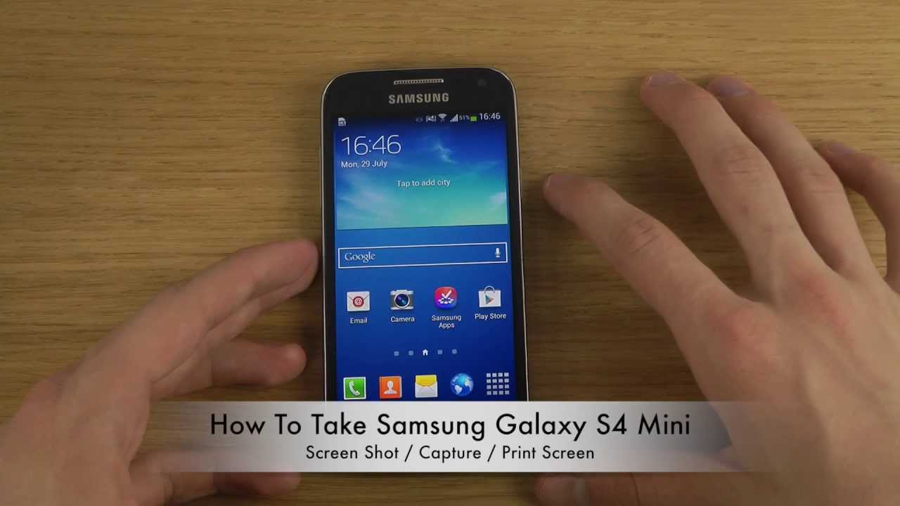 How To Take Samsung Galaxy S4 Screen Shot Capture Print Screen