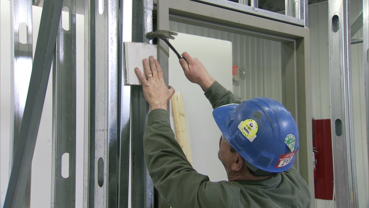 Door Frame Installation : Door installation install a frame