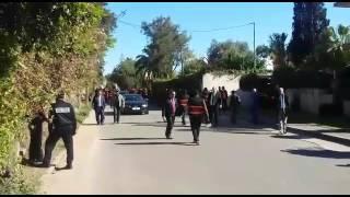 اعادة تمثيل مقتل البرلماني مرداس في الدار البيضاء