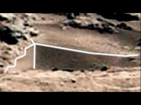 Mars. Curiosity. PIA16453 Anomalies.