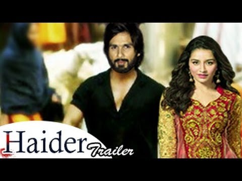 Haider OFFICIAL TRAILER | Shahid Kapoor, Shraddha Kapoor | HAIDER OFFICIAL TRAILER RELEASED |