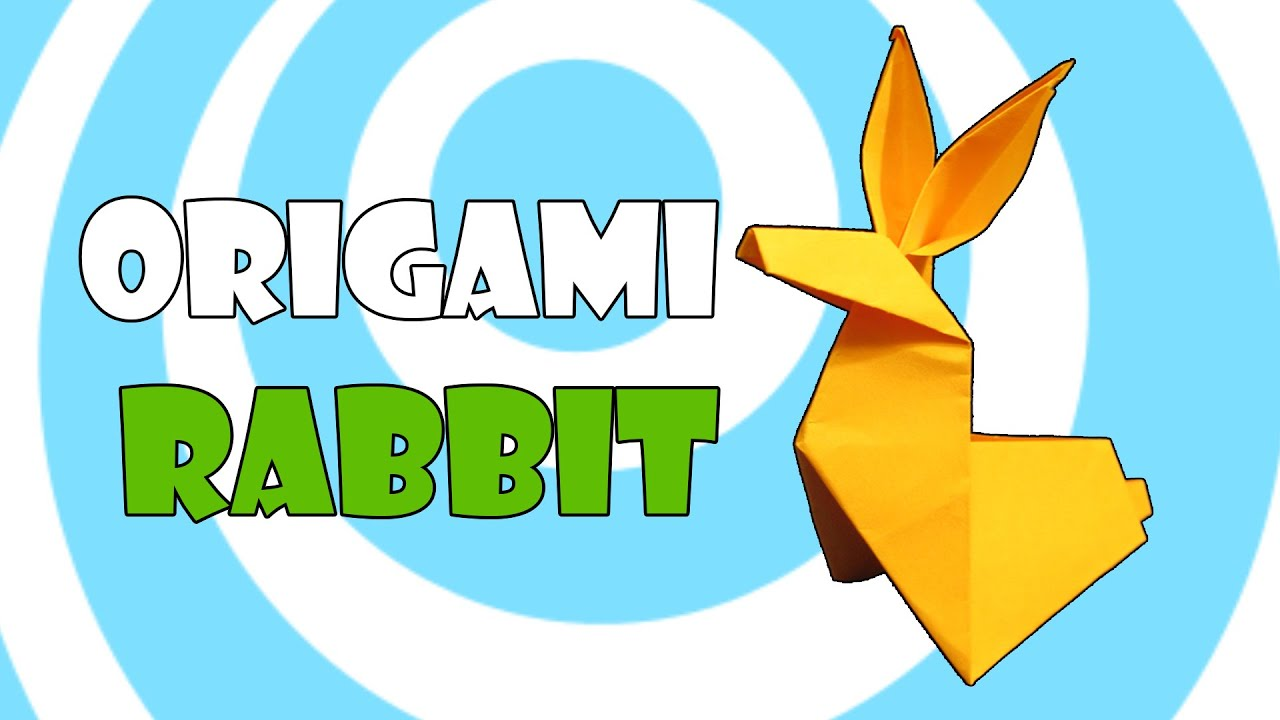 easy origami bunny instructions