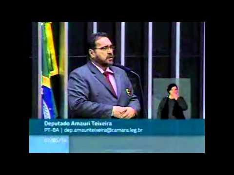 Dep. Amauri Teixeira a favor dos aprovados do Banco Central do Brasil